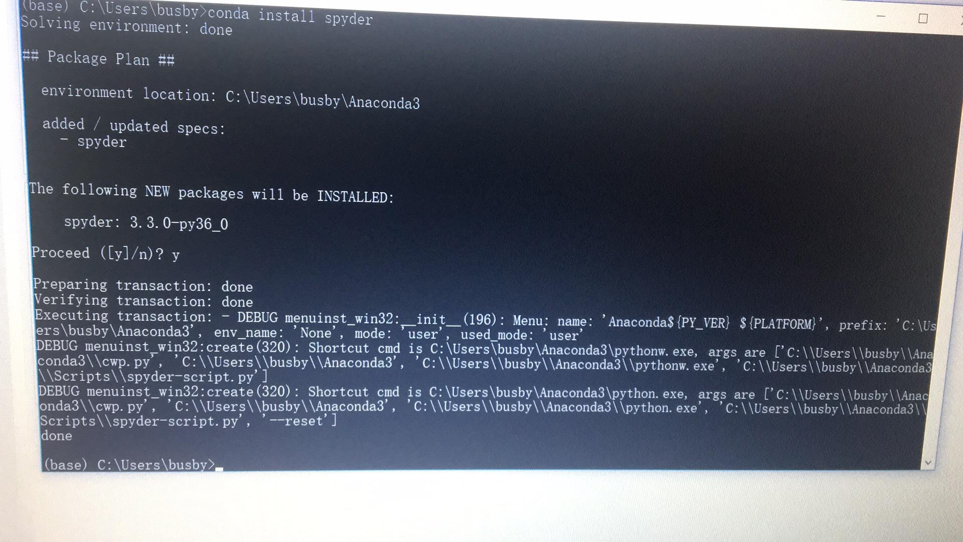 Anaconda中Spyder闪退的解决方法- CrazyBusby的CSDN小窝- CSDN博客
